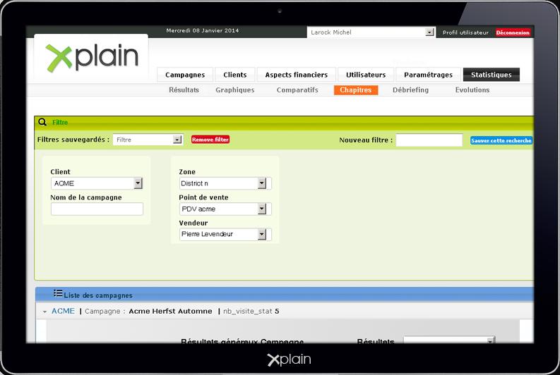 xplain: mystery shopping tool